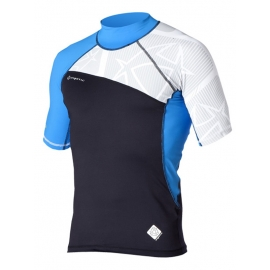 lycra mystic cross fire bleu uv 50