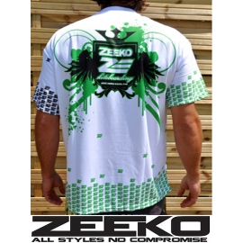 zeeko water shirt blanc