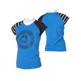 lycra fille bleu mystic pour le kitesurf,windsurf,surf,sport d'eau